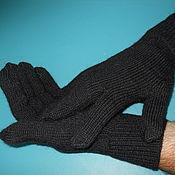 Аксессуары handmade. Livemaster - original item men`s gloves.. Handmade.