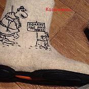 Обувь ручной работы handmade. Livemaster - original item Mens boots