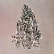 Картины и панно ручной работы. Ярмарка Мастеров - ручная работа Цветущий каштан. Handmade.