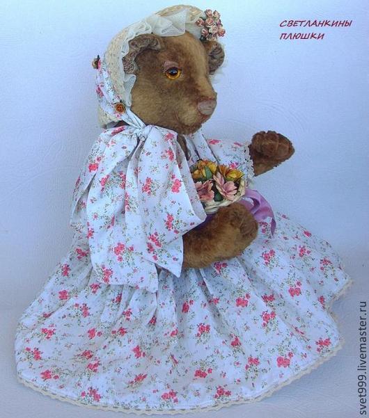 """Мишки Тедди ручной работы. Ярмарка Мастеров - ручная работа. Купить плюшевый медведик """"Мари"""". Handmade. Медведь, плюш"""