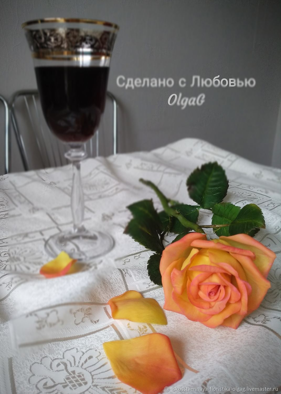 Роз Чайно-гибридная Амбианс, Растения, Калининград,  Фото №1