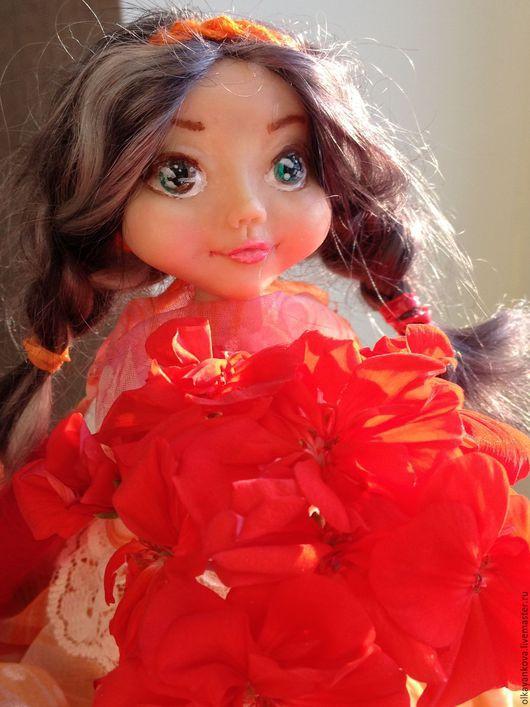 Коллекционные куклы ручной работы. Ярмарка Мастеров - ручная работа. Купить Анжелика. Handmade. Белый, ручная работа