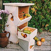 Утварь ручной работы. Ярмарка Мастеров - ручная работа Ящик деревянный. Handmade.
