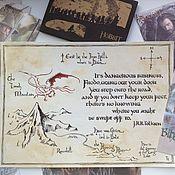 Картины и панно ручной работы. Ярмарка Мастеров - ручная работа The Hobbit: Lonely Mountain. Handmade.