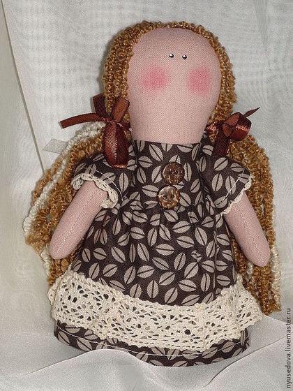 Человечки ручной работы. Ярмарка Мастеров - ручная работа Ангел Coffee маленький ангелок. Handmade.