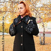 Одежда handmade. Livemaster - original item Knitted coat Royal. Handmade.