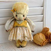 Куклы и игрушки ручной работы. Ярмарка Мастеров - ручная работа Зайка тедди.. Handmade.
