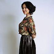 Одежда ручной работы. Ярмарка Мастеров - ручная работа Блузка шелковая. Handmade.