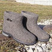 """Обувь ручной работы. Ярмарка Мастеров - ручная работа Валенки-сапожки """"Дымка-2"""". Handmade."""