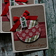 Открытки к Новому году ручной работы. Корпоративные открытки к Новому году. made by Nina Golovina (scrap). Ярмарка Мастеров.