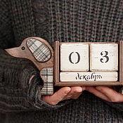 Канцелярские товары handmade. Livemaster - original item Eternity calendar Dachshund for the happiness. Handmade.