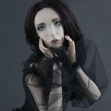 Куклы и игрушки ручной работы. Ярмарка Мастеров - ручная работа Фарфоровая шарнирная бжд кукла Лилит. Handmade.