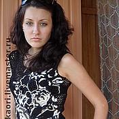 Одежда ручной работы. Ярмарка Мастеров - ручная работа блузочка black&white. Handmade.