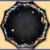Аксессуары ручной работы. Ярмарка Мастеров - ручная работа Расписной зонт. Handmade.