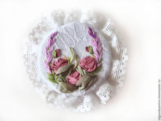 Броши ручной работы. Ярмарка Мастеров - ручная работа. Купить Брошь Розы. Handmade. Подарок женщине, подарок для женщины