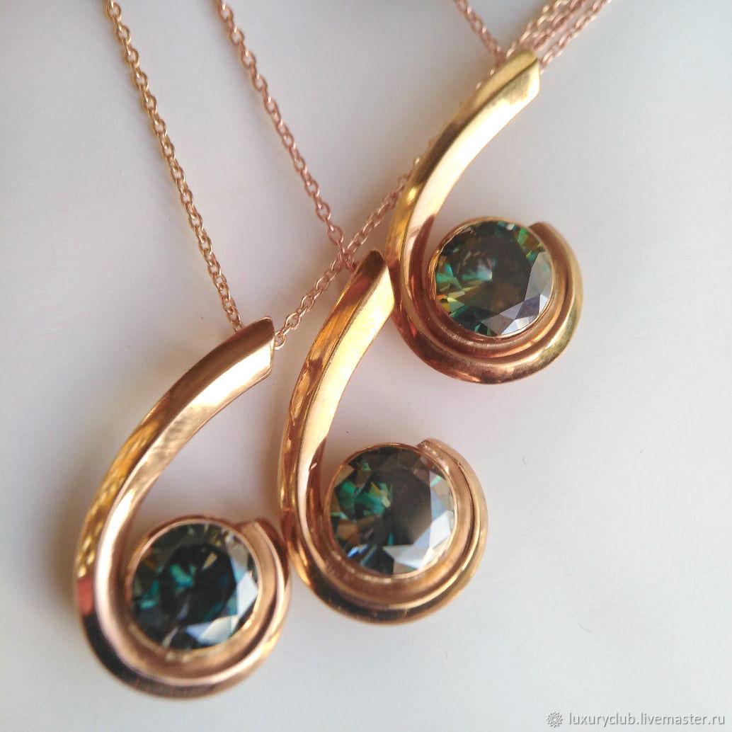 2.25 ct diamond pendant 'Magic around' buy, Pendants, Tolyatti,  Фото №1