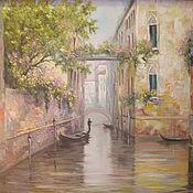 Картины и панно handmade. Livemaster - original item Warm Venice. Handmade.