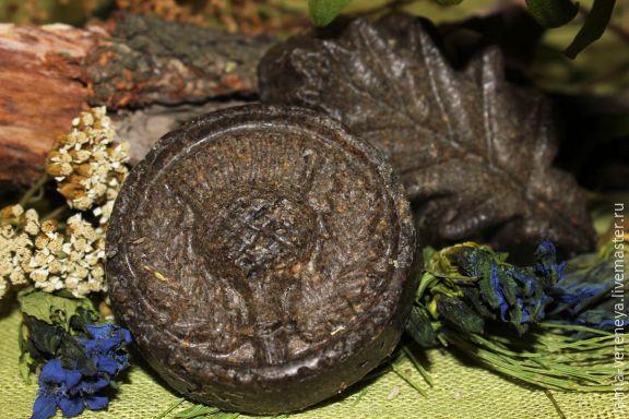 мыло с чертополохом -55 гр, мыло листик около 70 гр