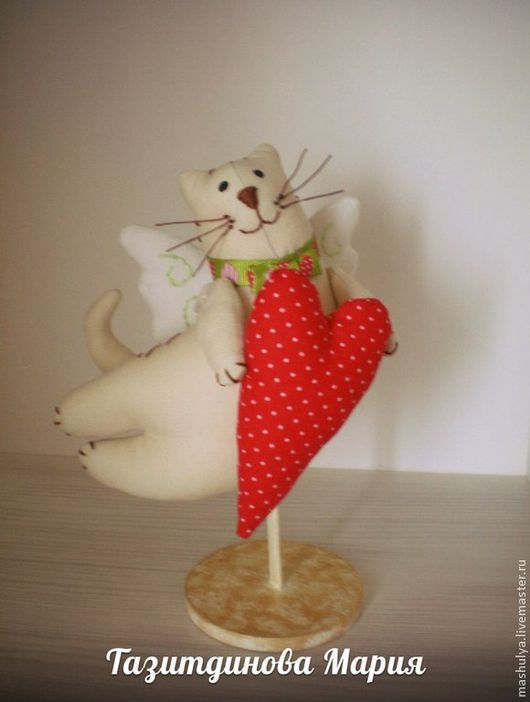Куклы Тильды ручной работы. Ярмарка Мастеров - ручная работа. Купить Летящий кот тильда. Handmade. Тильда кот
