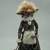 Куклы и игрушки ручной работы. Ярмарка Мастеров - ручная работа Брауни Волосатая Мег. Handmade.
