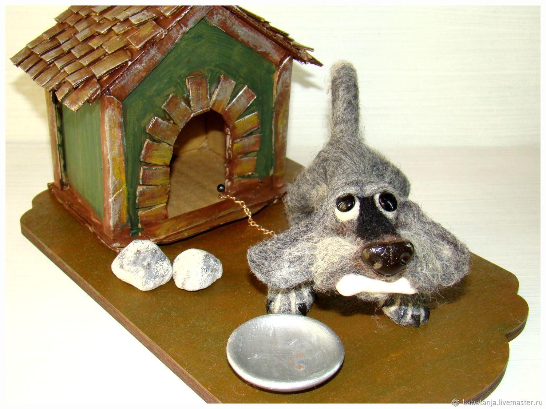 Любимая дворняга, Войлочная игрушка, Нахабино,  Фото №1