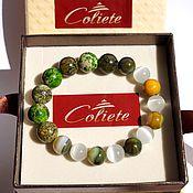 Фен-шуй и эзотерика handmade. Livemaster - original item Energy bracelet from stones