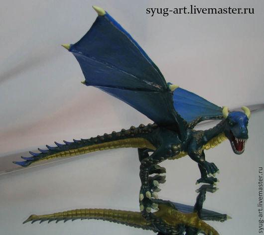 Сказочные персонажи ручной работы. Ярмарка Мастеров - ручная работа. Купить Дракон из сказки. Handmade. Дракон, сказочный персонаж, игрушка