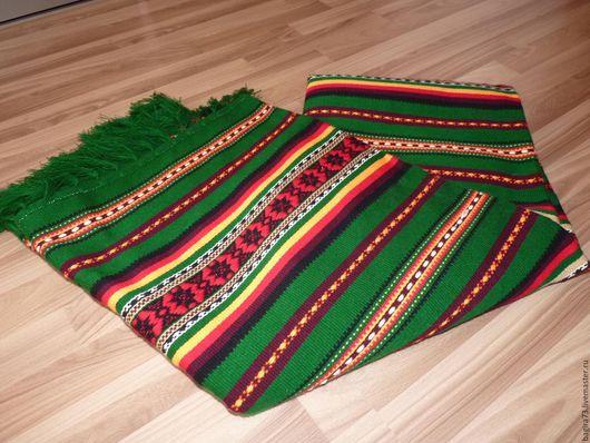 Текстиль, ковры ручной работы. Ярмарка Мастеров - ручная работа. Купить Верета. Handmade. Тёмно-зелёный, покрывало, для дома, для интерьера