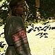 Одежда ручной работы. Рубаха женская льняная с прямыми поликами. Мастерская одежды и утвари. Интернет-магазин Ярмарка Мастеров. Рубаха