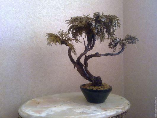 Бонсай ручной работы. Ярмарка Мастеров - ручная работа. Купить исскуственное дерево бонсай. Handmade. Искуственное дерево, бонсай, интерьер