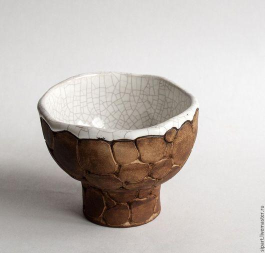 """Пиалы ручной работы. Ярмарка Мастеров - ручная работа. Купить Пиала-вазочка """"Каменная чаша"""". Handmade. Посуда ручной работы"""