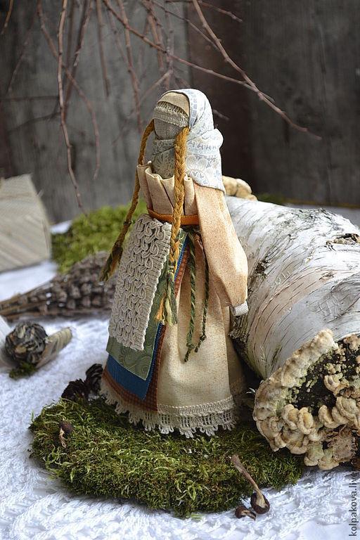 """Народные куклы ручной работы. Ярмарка Мастеров - ручная работа. Купить кукла-оберег Веснянка""""Лесная"""".. Handmade. Кукла ручной работы"""