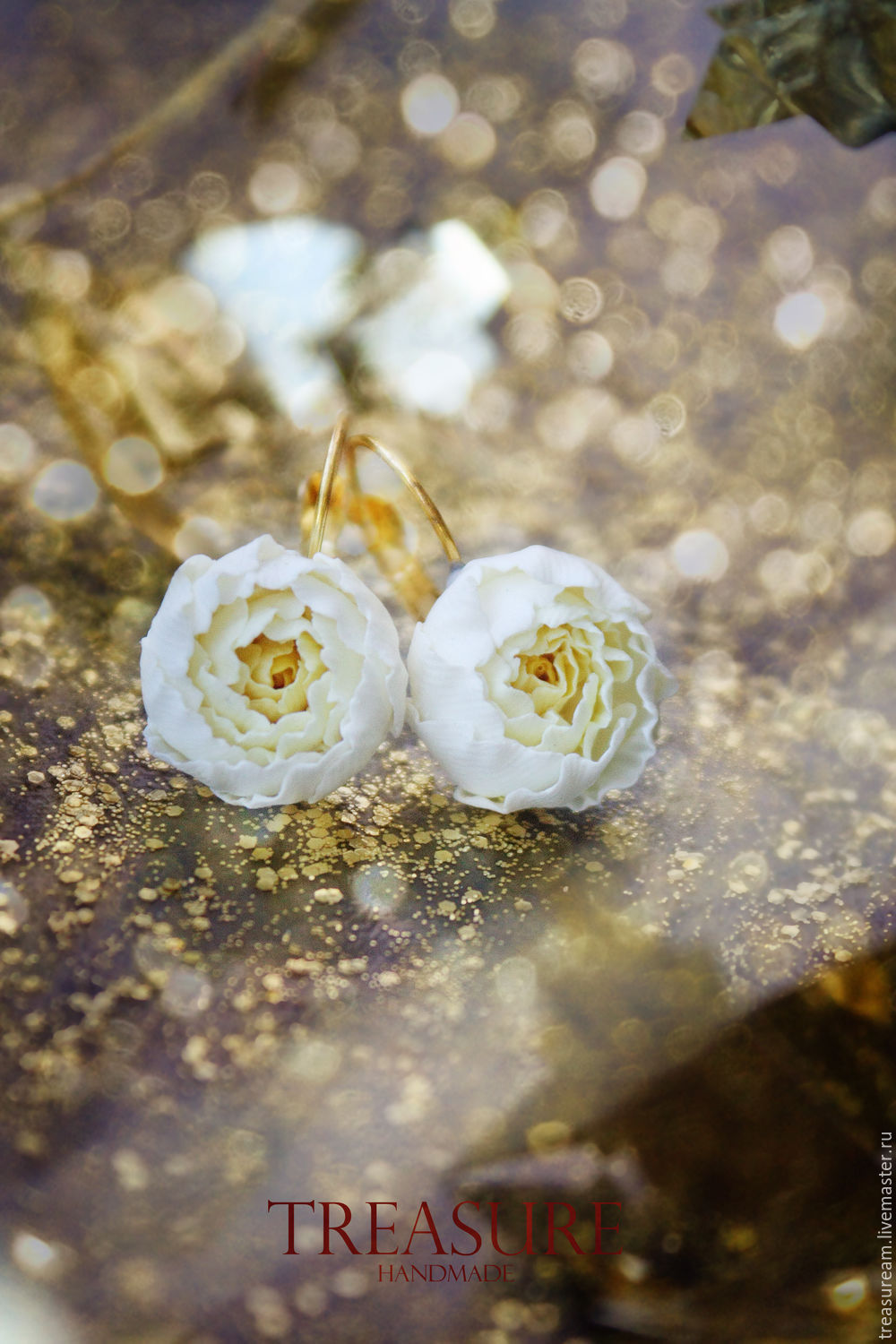 Set earringsring with pale yellow flowers yellow peonies shop set earringsring with pale yellow flowers yellow peonies mightylinksfo