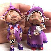 Куклы и игрушки ручной работы. Ярмарка Мастеров - ручная работа Ночные мотыльки. Handmade.