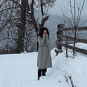 Платья ручной работы. Ярмарка Мастеров - ручная работа Вязаное платье из твида. Handmade.