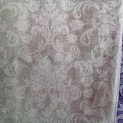 """Для дома и интерьера ручной работы. Ярмарка Мастеров - ручная работа Плед - покрывало льняное """"Листочки"""". Handmade."""