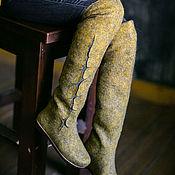 """Обувь ручной работы. Ярмарка Мастеров - ручная работа Ботфорты-трансформеры """"Мирабель"""". Handmade."""