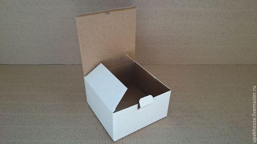 Упаковка ручной работы. Ярмарка Мастеров - ручная работа. Купить Гофрокоробка малая. Handmade. Простая упаковка, гофрированная упаковка