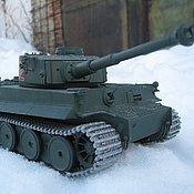 Куклы и игрушки ручной работы. Ярмарка Мастеров - ручная работа Модель-копия танка. Handmade.