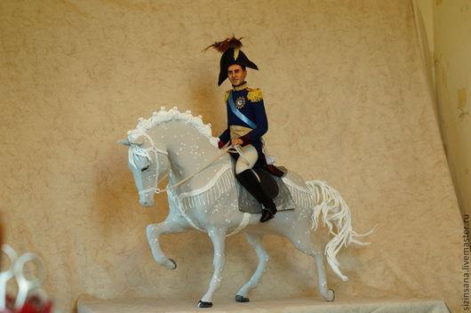 Портретные куклы ручной работы. Ярмарка Мастеров - ручная работа. Купить Портретная кукла в образе Александра I. Handmade. портретка