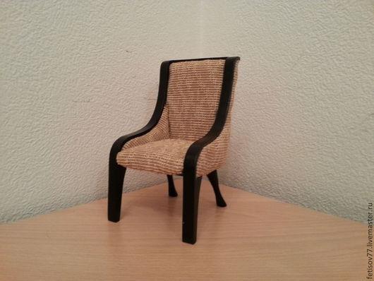 Кукольный дом ручной работы. Ярмарка Мастеров - ручная работа. Купить Кукольный стульчик для гостинной. Handmade. Кукольная миниатюра