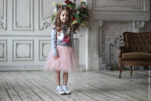 Одежда для девочек, ручной работы. Ярмарка Мастеров - ручная работа. Купить Пышная юбка для девочки. Handmade. Пышная юбка, фатин