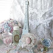 """Для дома и интерьера ручной работы. Ярмарка Мастеров - ручная работа """"Shabby Tour Eiffel"""". Эйфелева башня.. Handmade."""