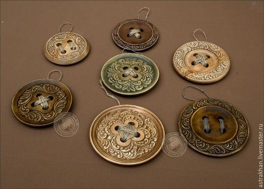 Для украшений ручной работы. Ярмарка Мастеров - ручная работа. Купить пуговицы деревянные резные и заготовки для декупажа. Handmade.