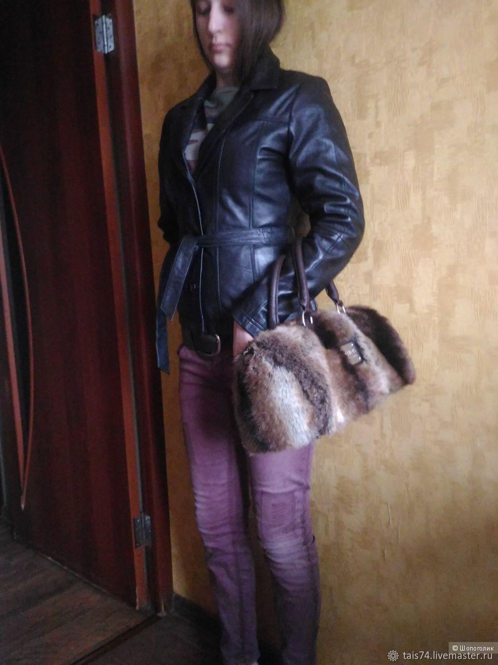 Винтаж: Куртка осенняя из натуральной кожи  ( на подстежке), Одежда винтажная, Челябинск,  Фото №1