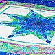 """Текстиль, ковры ручной работы. Ярмарка Мастеров - ручная работа. Купить Лоскутное одеяло """"Море"""". Handmade. Батик, зеленый"""