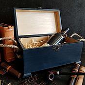"""Комоды ручной работы. Ярмарка Мастеров - ручная работа Подарок мужчине. Сундук деревянный """" Брутальный"""" (кедр). Handmade."""