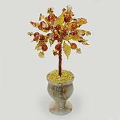 handmade. Livemaster - original item Trees: Carnelian and sardonyx tree