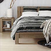 Для дома и интерьера ручной работы. Ярмарка Мастеров - ручная работа Коллекция №4 кровать на брусах из массива дуба. Handmade.