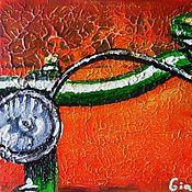 Картины и панно ручной работы. Ярмарка Мастеров - ручная работа Зеленое настроение. Handmade.